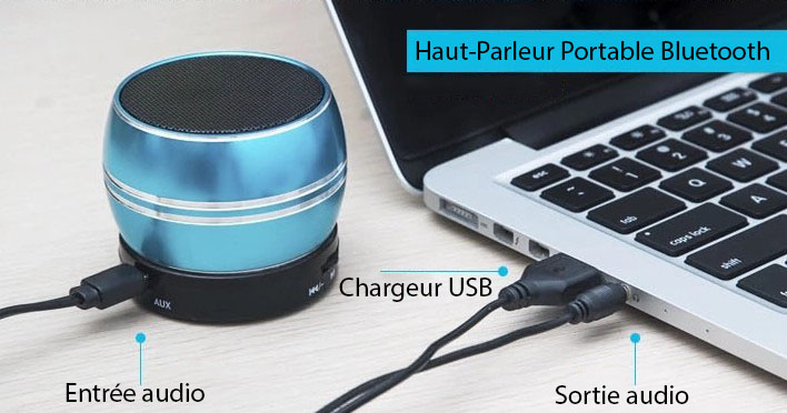 Enceinte portable bluetooth ordinateur