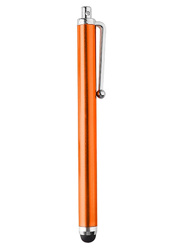 Stylo tactile orange