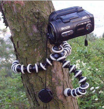 Tripod Flexible Camera