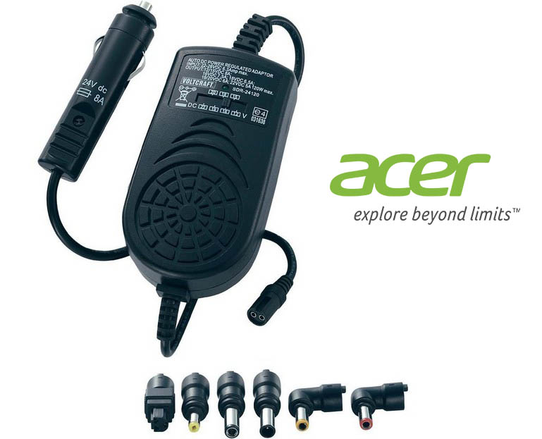 Chargeur voiture allume cigare Acer