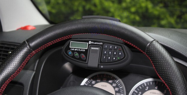 Main libre bluetooth volant voiture